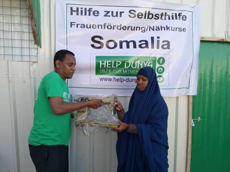 Help Dunya Frauenförderung/Nähkurse