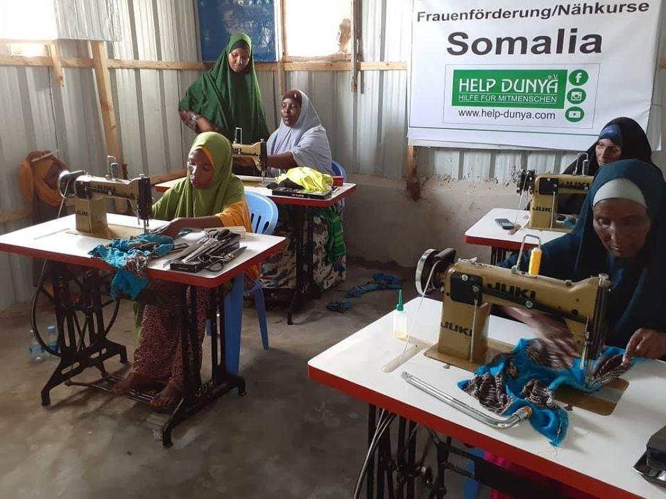 Help Dunya Frauenförderung / Nähkurse