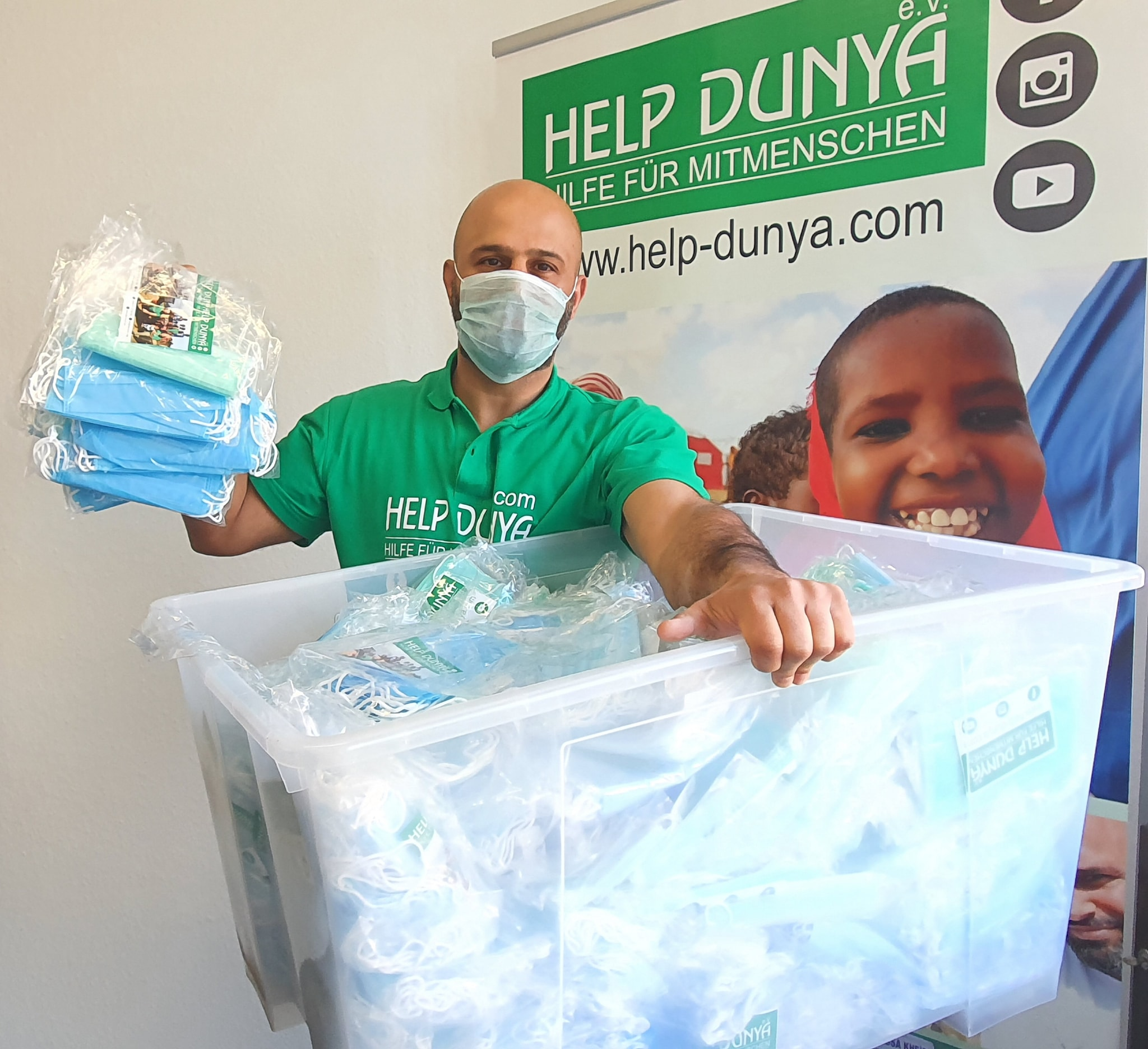 Help Dunya Coronahilfe