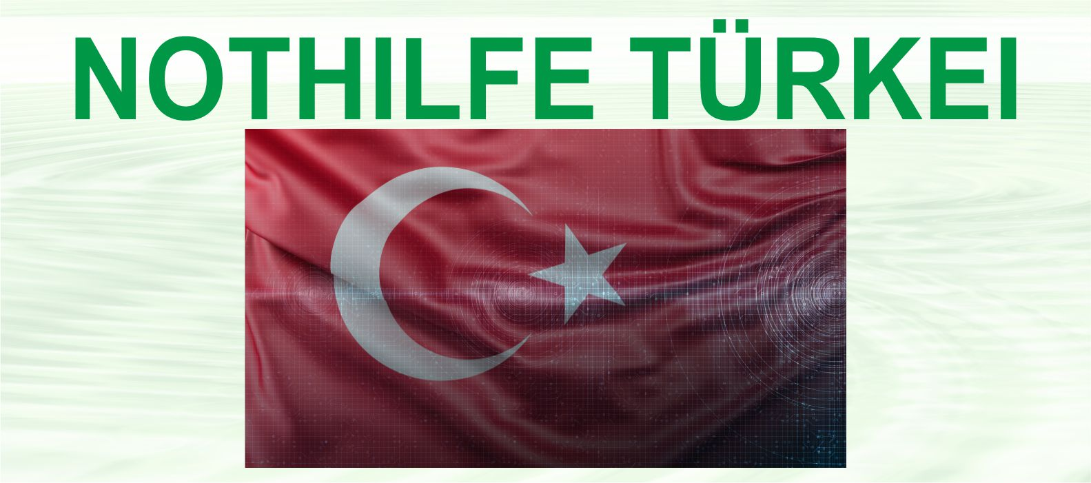 Nothilfe Türkei