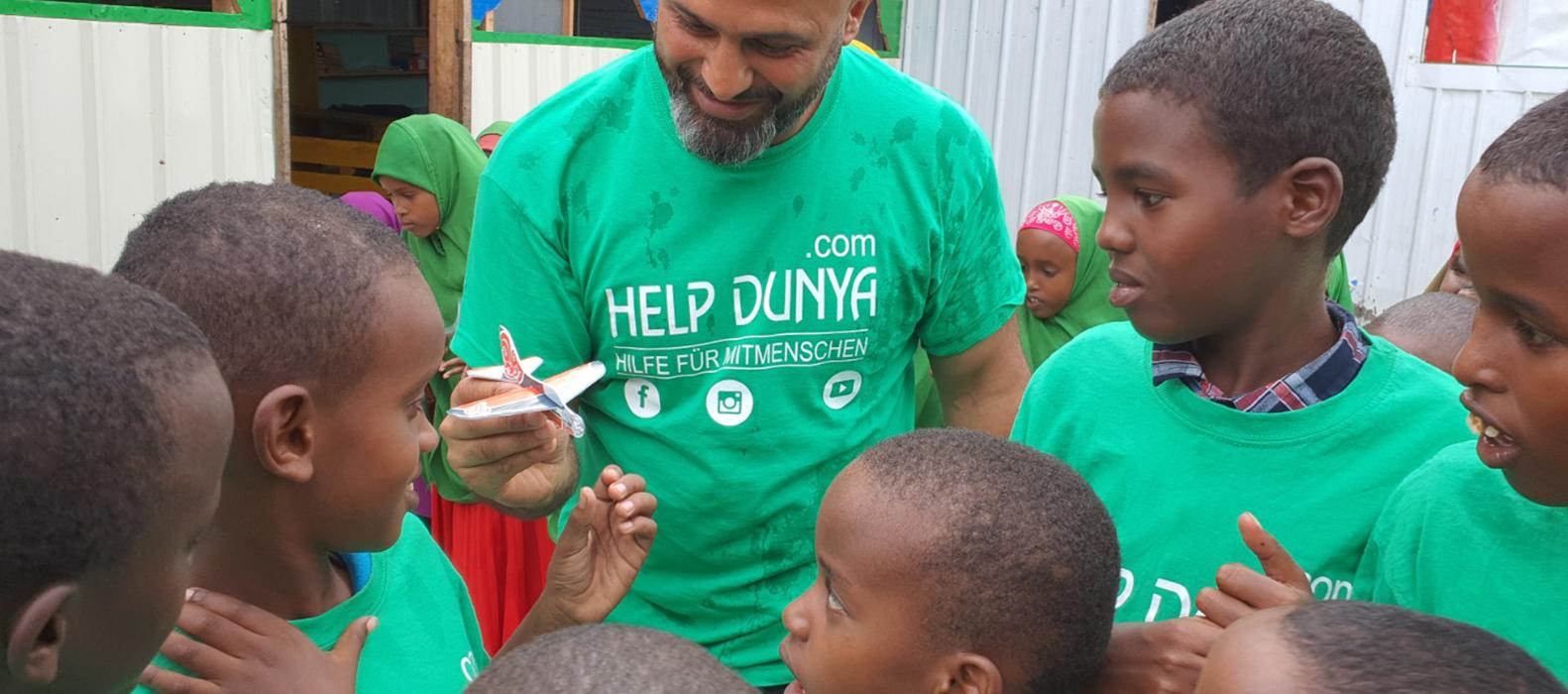 Help Dunya Geschenke zu Eid